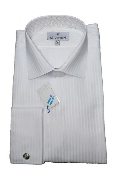 Camisa Ratier Gala Puño Doble Francés Con Gemelos Incluidos