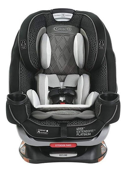 Cadeirinha Carro Seat Graco 4ever Extend2fit Platinum 4-in-1