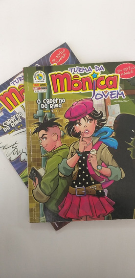 Kit Turma Da Monica Jovem - Vol 23 E 24 - O Caderno De Riso