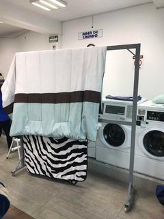 Tendedero Cobertores Lavandería Tintorería