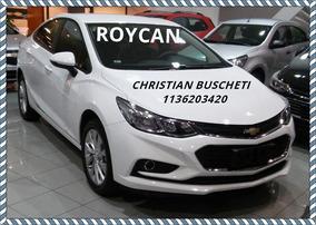 Nuevo Chevrolet Cruze Ltz A/t 4p 1.4 Turbo