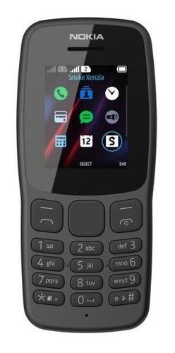 Celular Nokia 106 - Gris - Libre - Burzaco - Envios