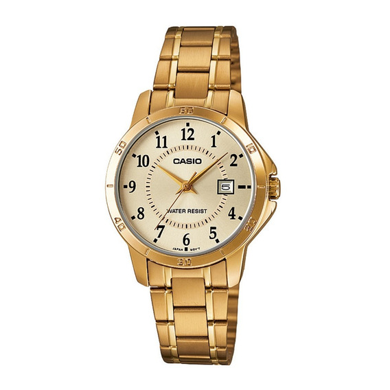 Relógio Analógico Feminino Casio Ltp-v004g-9budf