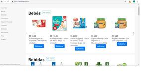 Supermercado Online.