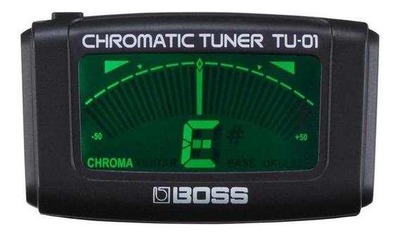 Afinador Boss Tu01 Clip Cromatico Guitarra Violão Tu-01