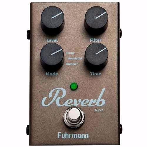 Pedal Digital P/ Guitarra Fuhrmann Reverb Rv-1 + Garantia