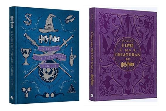 Harry Potter O Livro Dos Artefatos Mágicos + Das Criaturas