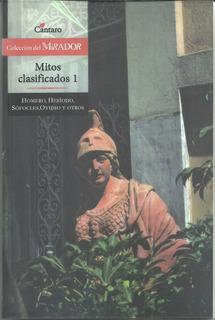 Libro Nuevo Mitos Clasificados. Homero, Hesiodo