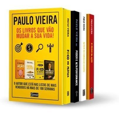 Box - Paulo Vieira - 4 Livros
