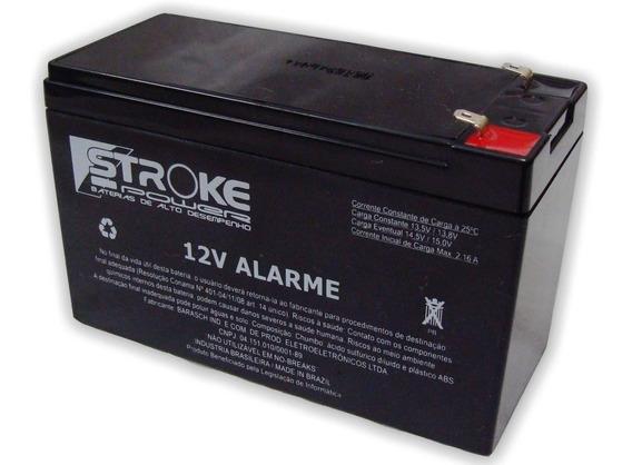 Bateria Selada 12 Volts + Carregador -alarmes-cercas-nobreak