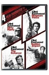 Dvd Coleção Dirty Harry - Dublado - 4 Filmes