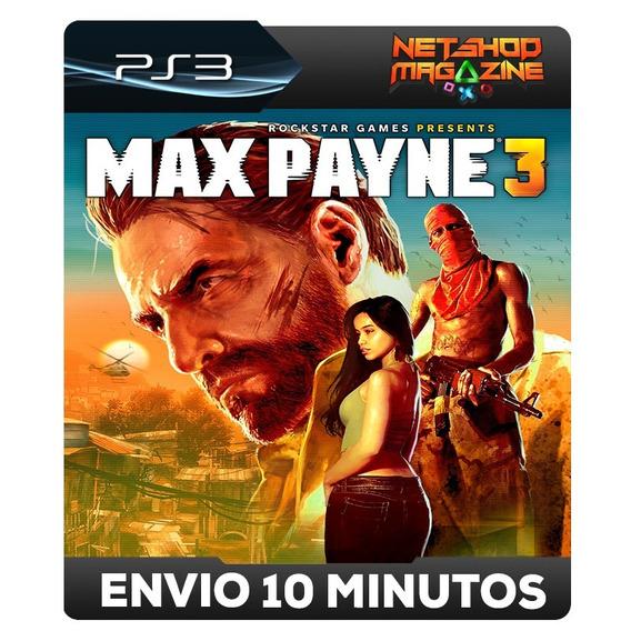 Max Payne 3 - Psn Ps3 - Envio Automático