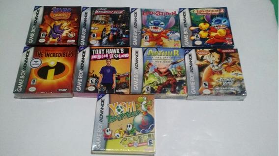 Jogos Game Boy Advance Lacrados Consulte Valores