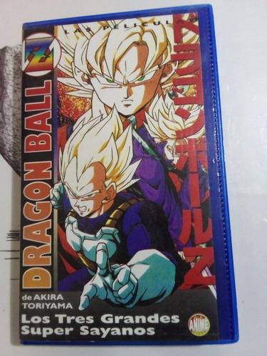 Dragon Ball Z. Los Tres Grandes - Vhs - Manga Films - U
