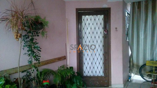 Imagem 1 de 9 de Casa Residencial À Venda, Saúde, Rio Claro. - Ca0015