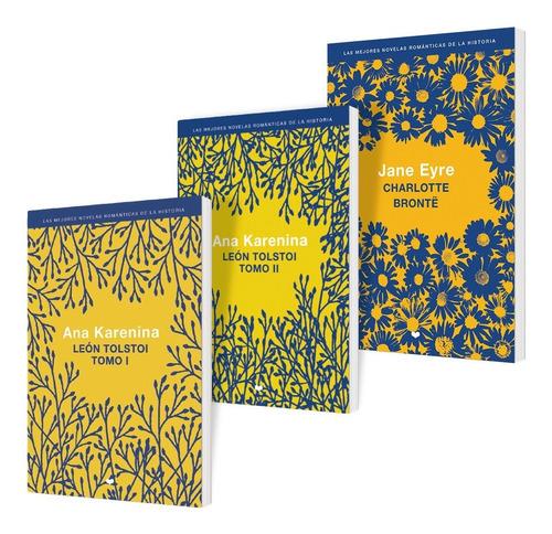 Imagen 1 de 7 de Clarín Colección Literatura Romántica Set 4 De 3 Libros