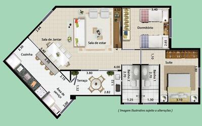 Cota Aprígio - Grupo 12 - 2 Dormitórios