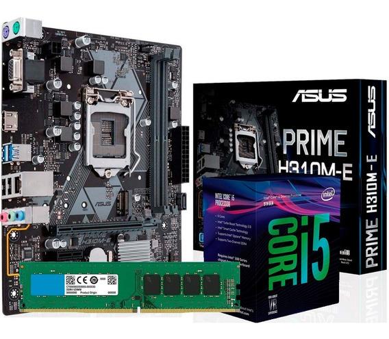 Combo Actualización Intel Core I5 9400f H310 8gb 2400mhz Env