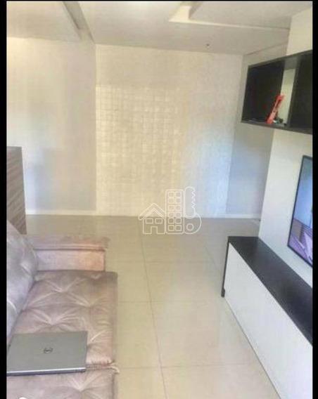 Apartamento Com 3 Dormitórios À Venda, 80 M² Por R$ 400.000,00 - Maria Paula - São Gonçalo/rj - Ap3053