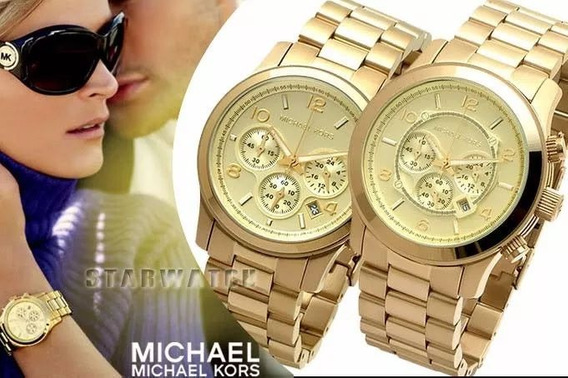 Relógio Original Luxo Michael Kors Mk5055 Chronograph