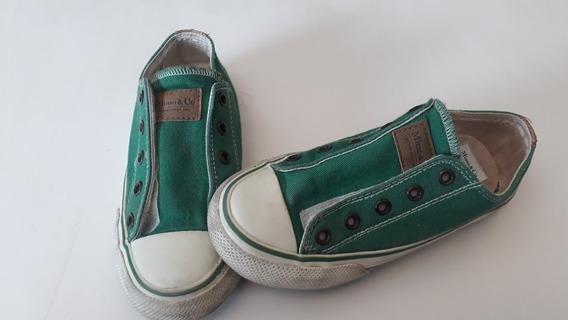 Zapatillas Mimo Talle 31 Con Abrojo. Impecables