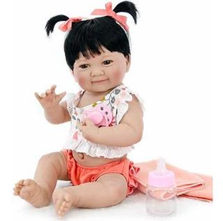 Pursuebaby Muñeca De Bebe Recien Nacido Lavable De Silicona