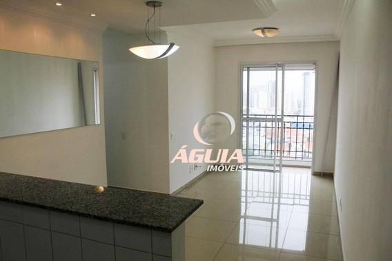 Apartamento Com 3 Dormitórios À Venda, 63 M² Por R$ 410.000,00 - Campestre - Santo André/sp - Ap2152