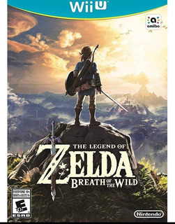 The Legend Of Zelda Breath Of The Wild Wii U Nuevo Sellado