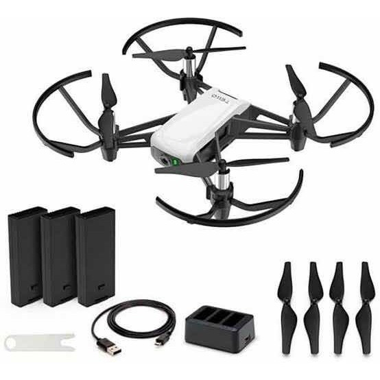 Drone Dji Tello Combo Branco Novo Pronta Entrega