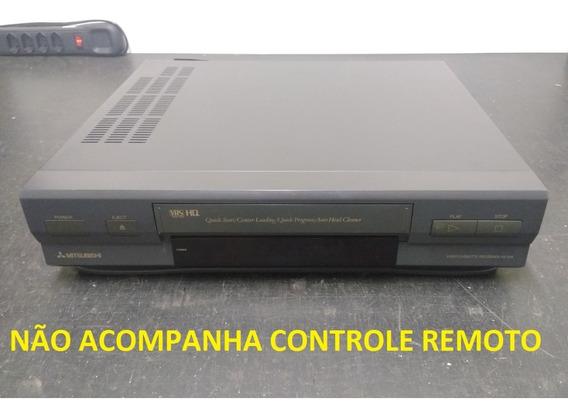 Leia A Descrição* Video Cassete K7 Vhs Mitsubishi Hs-x98