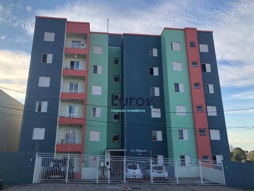 Imagem 1 de 8 de Apartamento Com 2 Dormitórios À Venda, 65 M² Por R$ 320.000,00 - Vila Progresso - Valinhos/sp - Ap1857