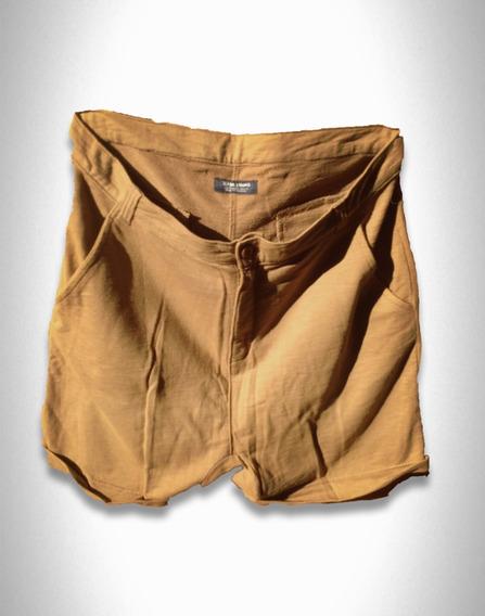 Bermuda Jeans Jogg Caramelo Zara Europa