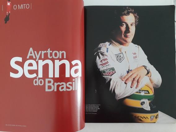 Revista Especial F1 100 Fotos Da Trajetória D Ayrton Senna