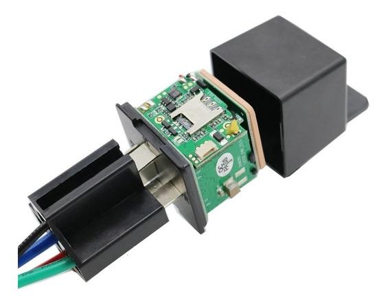 Rastreador Bloqueador Veicular Gps Modelo Relé Rele Lk720