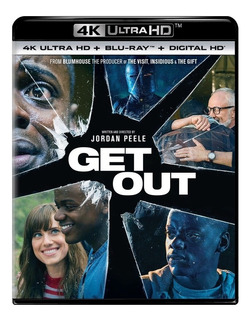 Bluray 4k Filme Corra! Get Out