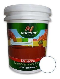Membrana Liquida Netcolor X 10lts Mi Techo |1ra Calidad|
