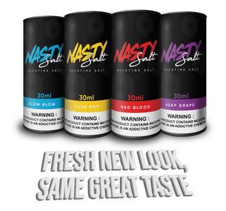 Nasty Salt Sal Liquido Vape Electronico Vaper