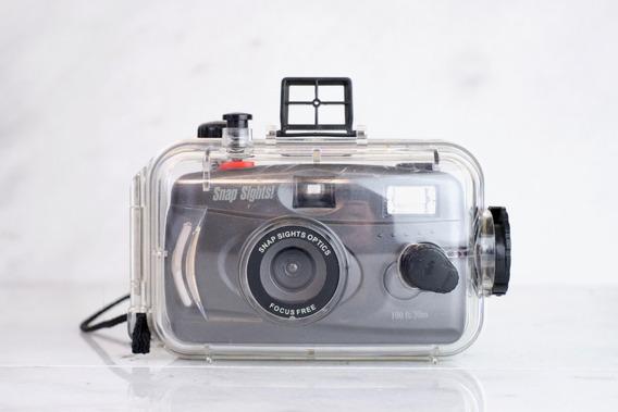 Câmera Fotográfica Subaquática Snapsights Optics Focus Free