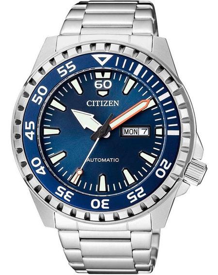 Relógio Citizen Masculino Automático Nh8389-88l / Tz31203f