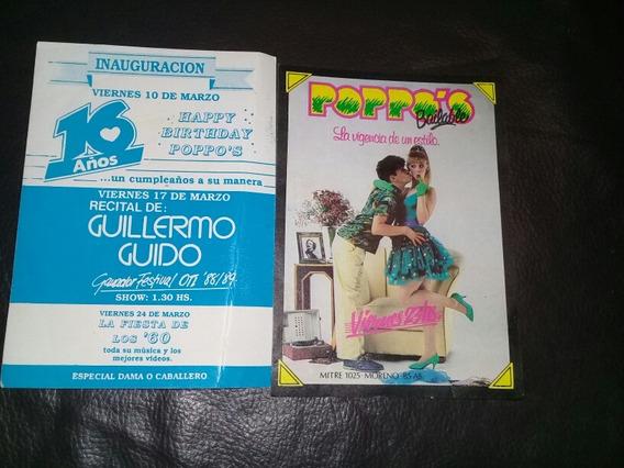 Entrada Boliche Recital Guillermo Guido