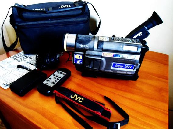 Filmadora Jvc Gr- Sxm 330 C/ Carregador Manual Controle