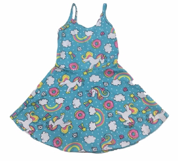05 Vestido Infantil Menina Estampados Roupas Atacado Top