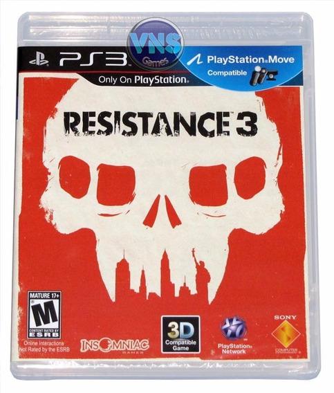 Resistance 3 - Americano - Midia Física - Original - Lacrado