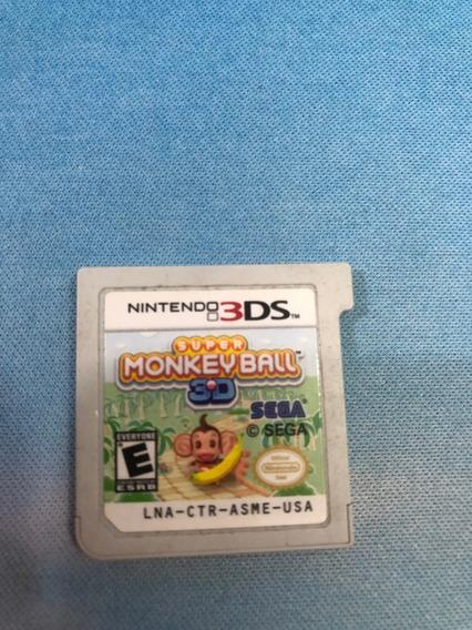 Jogo Super Monkey Ball- Nintendo 3ds