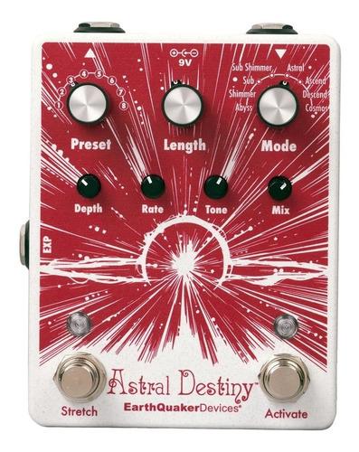 Imagem 1 de 6 de Pedal Astral Destiny Reverb Octave Earthquaker Devices