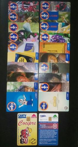 Imagen 1 de 1 de Tarjetas Telefónicas Antiguas