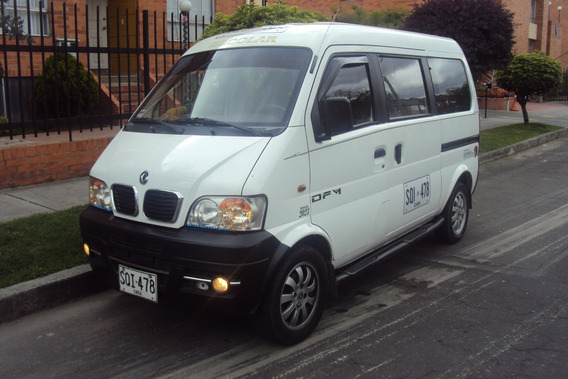 Van Dfm 7 Pasajeros Gas Y Gasolina / Negociable