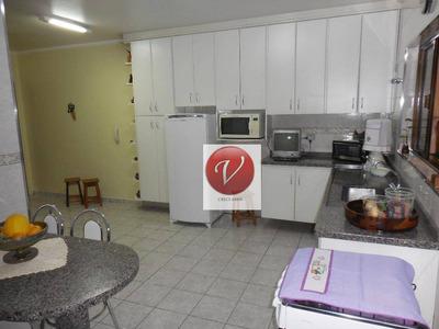 Sobrado Com 3 Dormitórios À Venda, 165 M² Por R$ 510.000 - Casa Branca - Santo André/sp - So0226