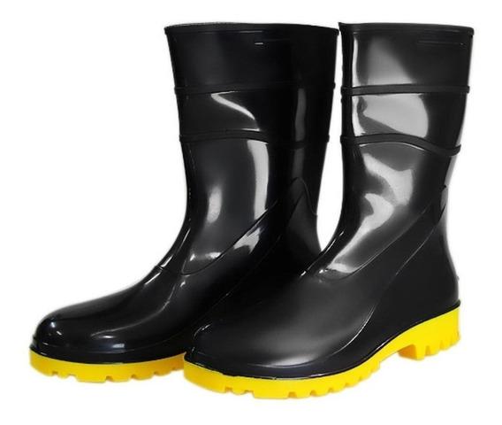 Bota Galocha Pvc Impermeável Acqua Boots + Brinde