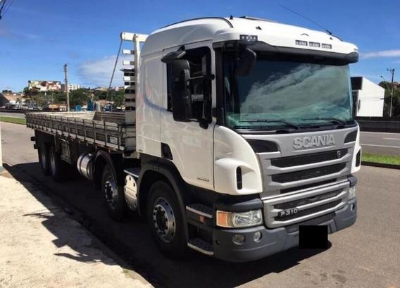 Scania P310 Carroceria (8x2) Ano 2015